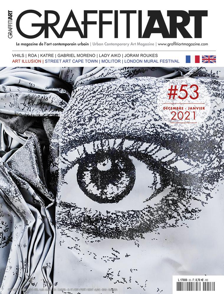 Graffiti Art Magazine 53 - Couverture - Vhils