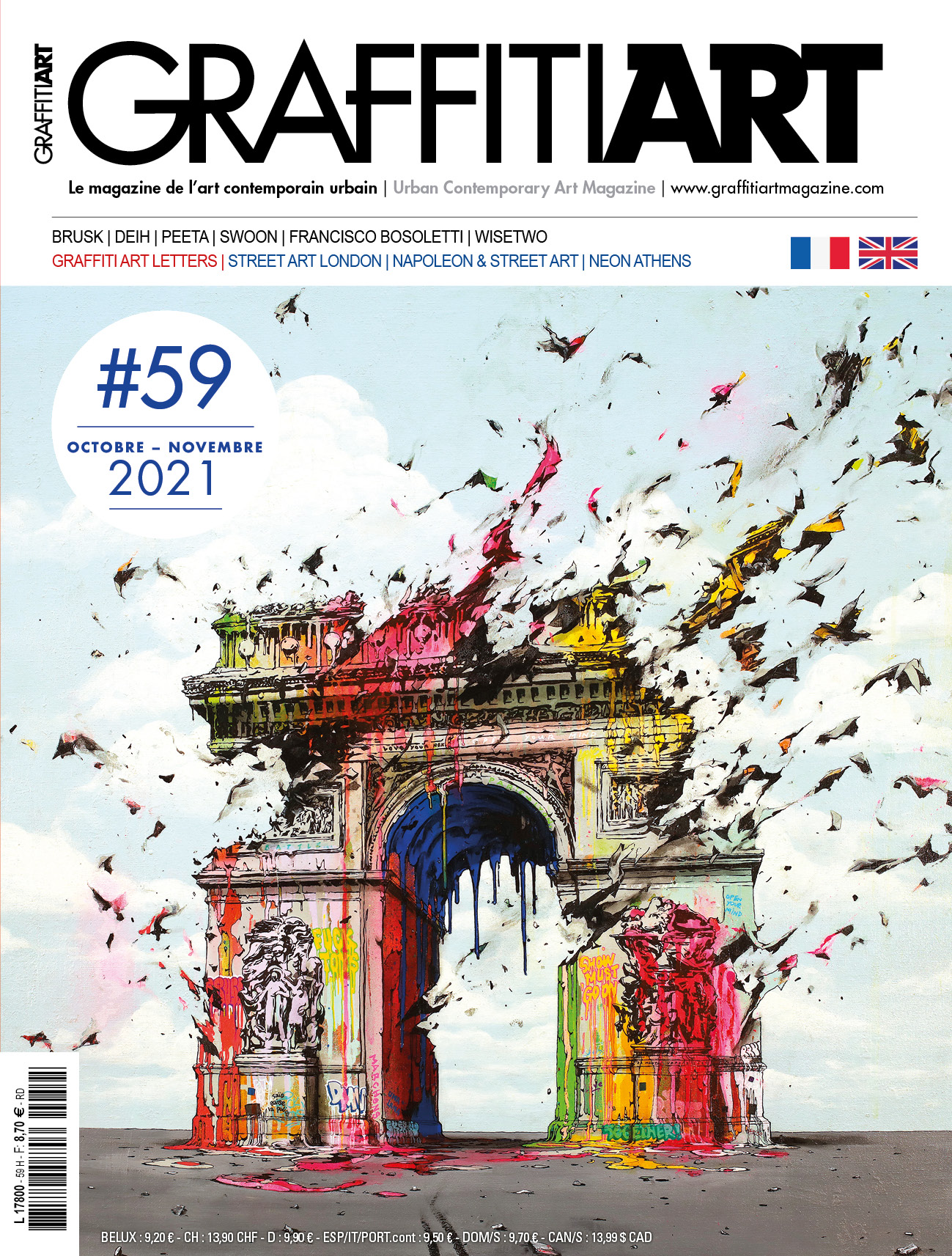 GraffitiART 58 - Cover